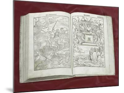 Martin Luther Bible: Four Horsemen of Apocalypse--Mounted Giclee Print