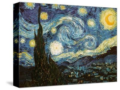 Starry Night, c.1889-Vincent van Gogh-Stretched Canvas Print
