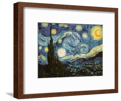 Starry Night, c.1889-Vincent van Gogh-Framed Premium Giclee Print