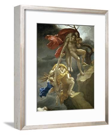 Scene de Deluge-Anne-Louis Girodet de Roussy-Trioson-Framed Giclee Print