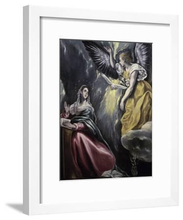 The Annunciation-El Greco-Framed Giclee Print