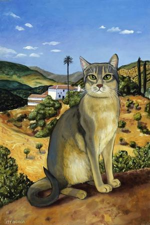 Abyssinian in the Vicinity of Seville-Isy Ochoa-Stretched Canvas Print