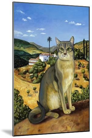 Abyssinian in the Vicinity of Seville-Isy Ochoa-Mounted Giclee Print