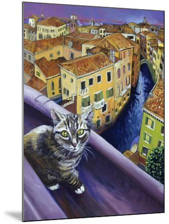 Cat of Venice (Chat de Venise)-Isy Ochoa-Mounted Giclee Print