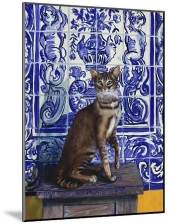 Cat of Portugal (Chat Du Portugal)-Isy Ochoa-Mounted Giclee Print
