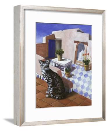 Cat of Morocco (Chat Du Maroc)-Isy Ochoa-Framed Giclee Print