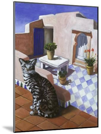 Cat of Morocco (Chat Du Maroc)-Isy Ochoa-Mounted Giclee Print