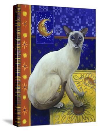 Siamese Cat, Series I-Isy Ochoa-Stretched Canvas Print