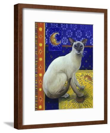 Siamese Cat, Series I-Isy Ochoa-Framed Giclee Print