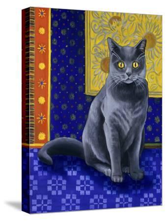 Chat Chartreux, Series I-Isy Ochoa-Stretched Canvas Print