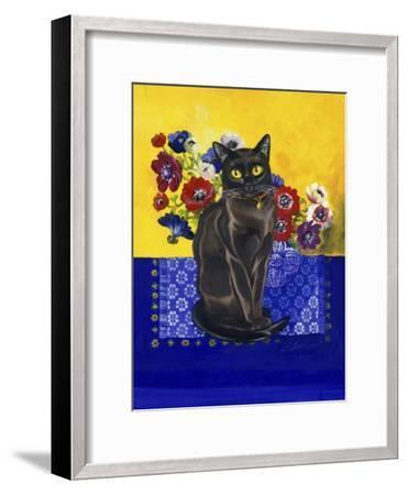 Burmese Cat, Series II-Isy Ochoa-Framed Giclee Print