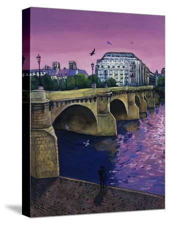 Le Pont Neuf-Isy Ochoa-Stretched Canvas Print