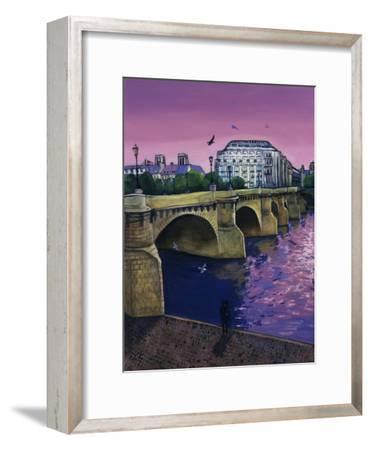Le Pont Neuf-Isy Ochoa-Framed Giclee Print
