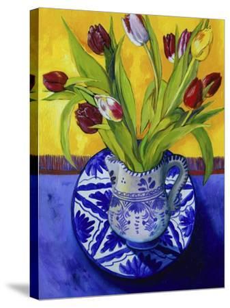 Tulips-Series I-Isy Ochoa-Stretched Canvas Print