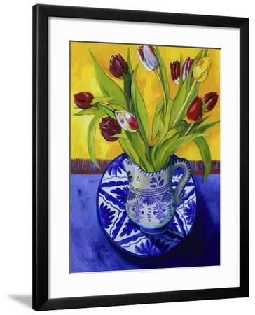 Tulips-Series I-Isy Ochoa-Framed Giclee Print