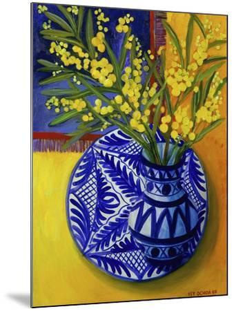 Mimosas, Series I-Isy Ochoa-Mounted Giclee Print