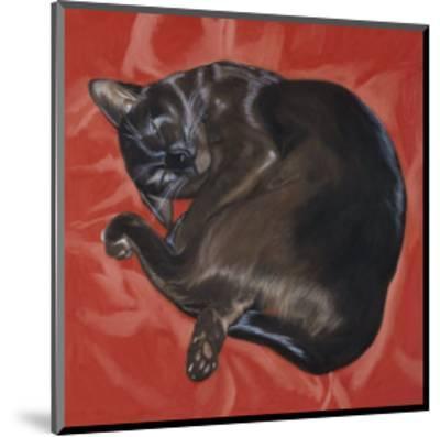 Velvet Cat I (Chat Velours I)-Isy Ochoa-Mounted Giclee Print