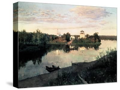 Evening Bells-Isaak Ilyich Levitan-Stretched Canvas Print