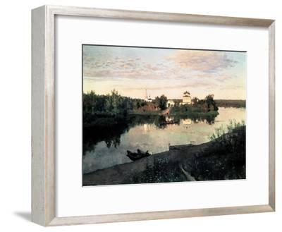 Evening Bells-Isaak Ilyich Levitan-Framed Giclee Print