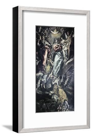 The Immaculate Conception-El Greco-Framed Giclee Print