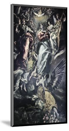 The Immaculate Conception-El Greco-Mounted Giclee Print