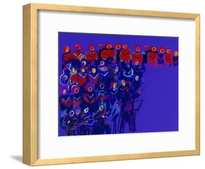 Orchestra-Diana Ong-Framed Giclee Print