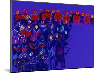 Orchestra-Diana Ong-Mounted Giclee Print