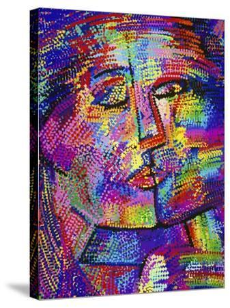 Shimmering Face-Diana Ong-Stretched Canvas Print
