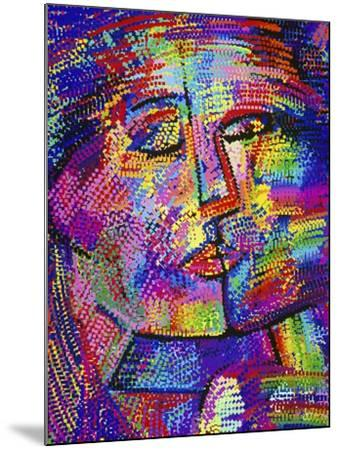 Shimmering Face-Diana Ong-Mounted Giclee Print