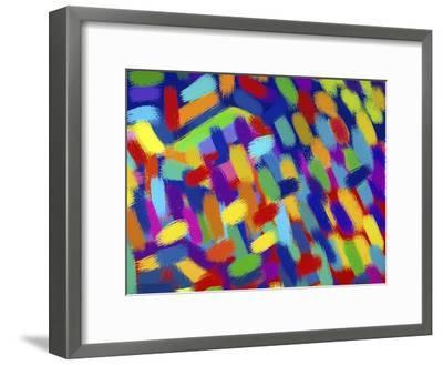 Abstractions-Diana Ong-Framed Giclee Print