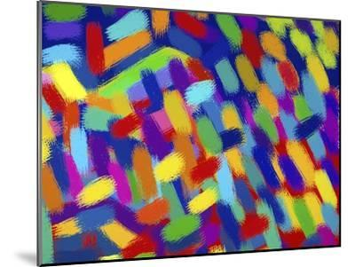 Abstractions-Diana Ong-Mounted Giclee Print