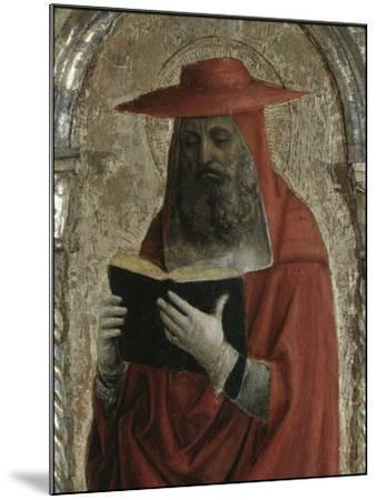 Fornari Polyptych-Detail of Saint Jerome-Vincenzo Foppa-Mounted Giclee Print