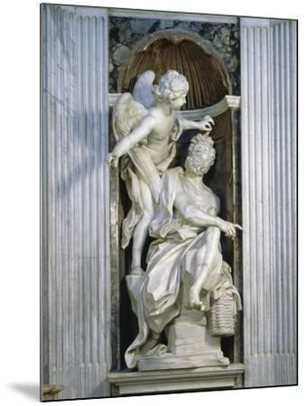 Abacuc and the Angel-Giovanni Lorenzo Bernini-Mounted Giclee Print