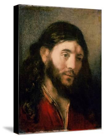 Head of Christ-Rembrandt van Rijn-Stretched Canvas Print