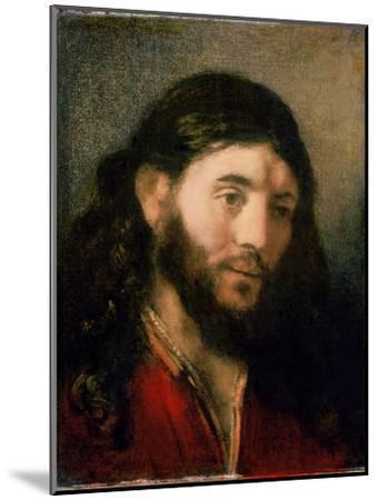 Head of Christ-Rembrandt van Rijn-Mounted Giclee Print