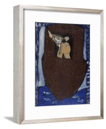 Noah's Ark-Leslie Xuereb-Framed Giclee Print