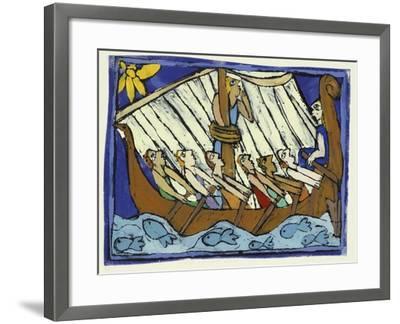 Ulysses-Leslie Xuereb-Framed Giclee Print
