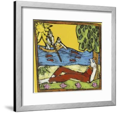 The Island of Immortality-Leslie Xuereb-Framed Giclee Print