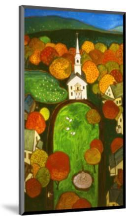 New England Green-John Newcomb-Mounted Giclee Print