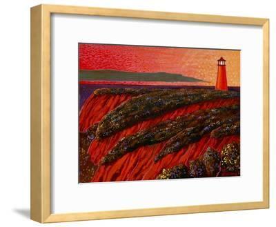 East Coast Dawn-John Newcomb-Framed Giclee Print