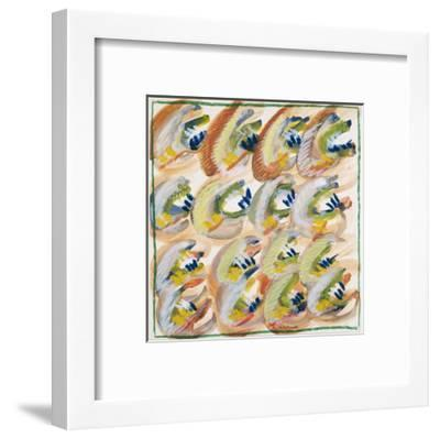 Abstract No.8-Marilee Whitehouse Holm-Framed Giclee Print