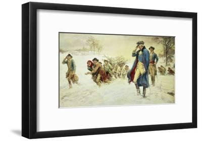 George Washington at Valley Forge-Frederick Coffay Yohn-Framed Giclee Print