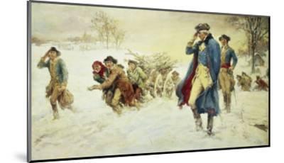 George Washington at Valley Forge-Frederick Coffay Yohn-Mounted Giclee Print