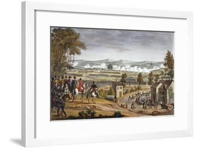 The Battle of Lutzen, 2 May 1813-Louis Francois Couche-Framed Giclee Print