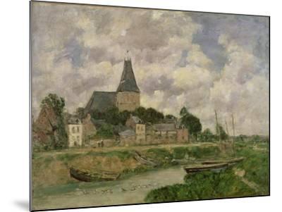 Quittebeuf, 1893-Eug?ne Boudin-Mounted Giclee Print