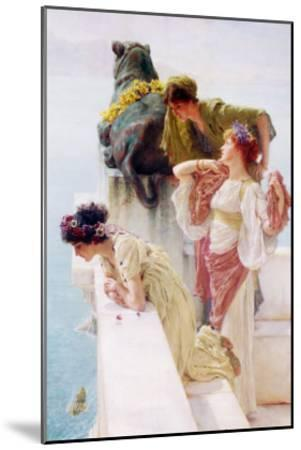 A Coign of Vantage, 1895-Sir Lawrence Alma-Tadema-Mounted Giclee Print
