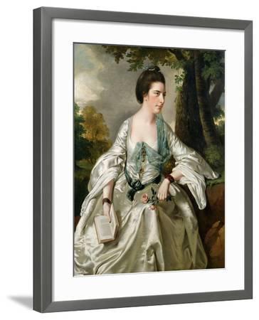 Portrait of Mrs. Nicholas Ashton, Nee Mary Warburton Philpot, 1769-Joseph Wright of Derby-Framed Giclee Print