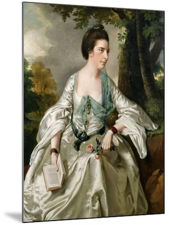 Portrait of Mrs. Nicholas Ashton, Nee Mary Warburton Philpot, 1769-Joseph Wright of Derby-Mounted Giclee Print