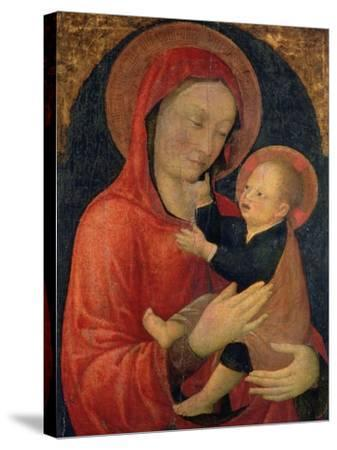 Madonna and Child-Jacopo Bellini-Stretched Canvas Print