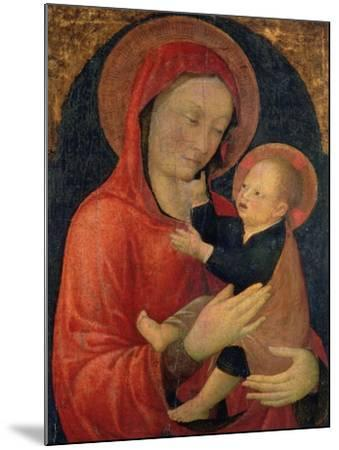 Madonna and Child-Jacopo Bellini-Mounted Giclee Print